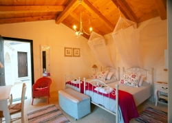 Twin Room at Villa Del Cielo Corfu
