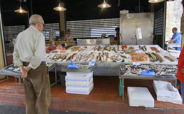 fresh fish restaurants in Corfu