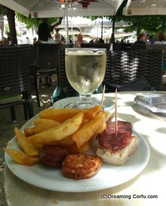 Eating out in corfu